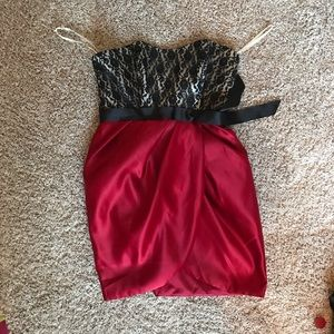 Dresses & Skirts - Size 11 red, black and white cocktail dress!
